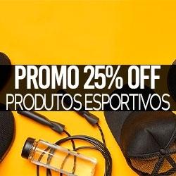 PROMO 25% OFF Acessórios Esportivos