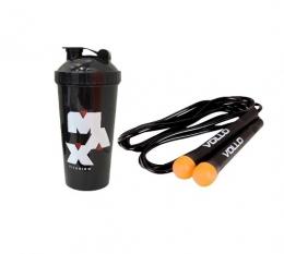 Corda de Pular + Coque Max Titanium