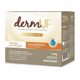 DermUP Supreme (Peptídeos de Colágeno + Ácido Hialurônico (30 Sachês de 5g)